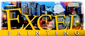 Logo, Excel Painting - Painting Company